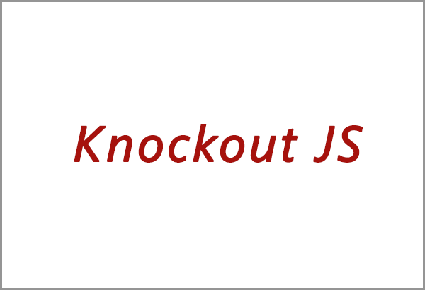KnockJS training